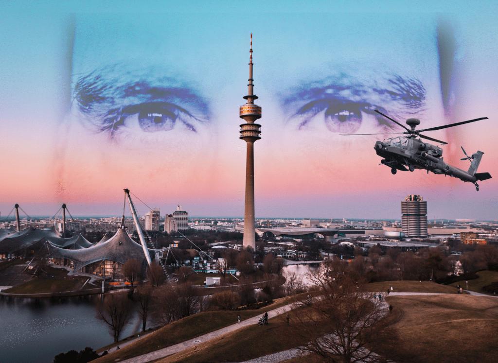 "Bewerbung der Münchner Krimi-Stadtallye ""Tatort Olympiapark"""